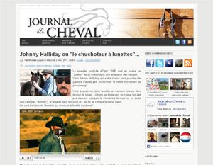 Le journal du cheval