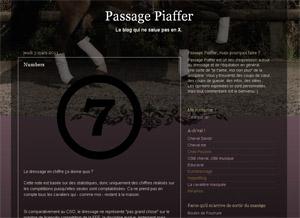 Blog passage piaffer
