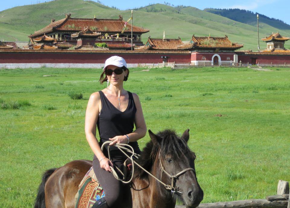 ©Randocheval - Sabine Grataloup en Mongolie